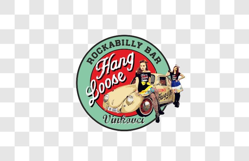 Hang Loose naljepnica 10cm